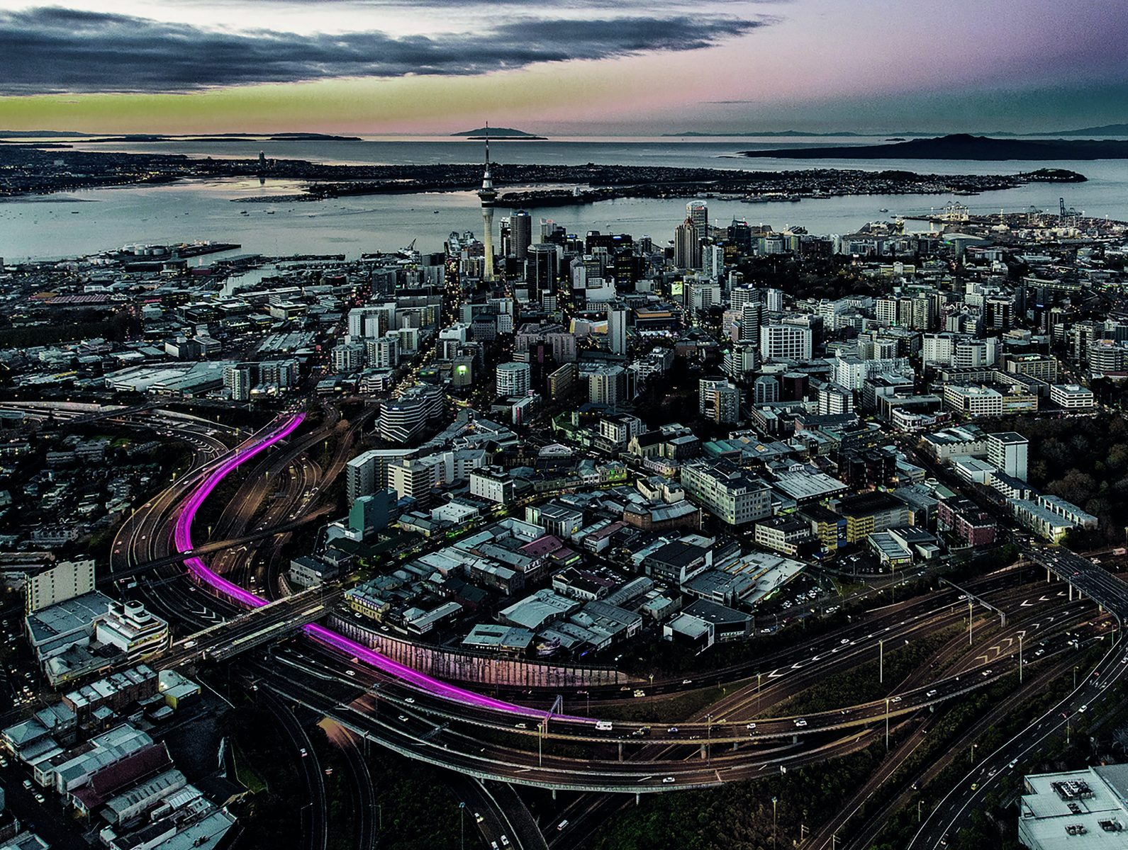 Nelson St Cycleway | Monk Mackenzie, LandLAB, GHD (Auckland, New Zealand)