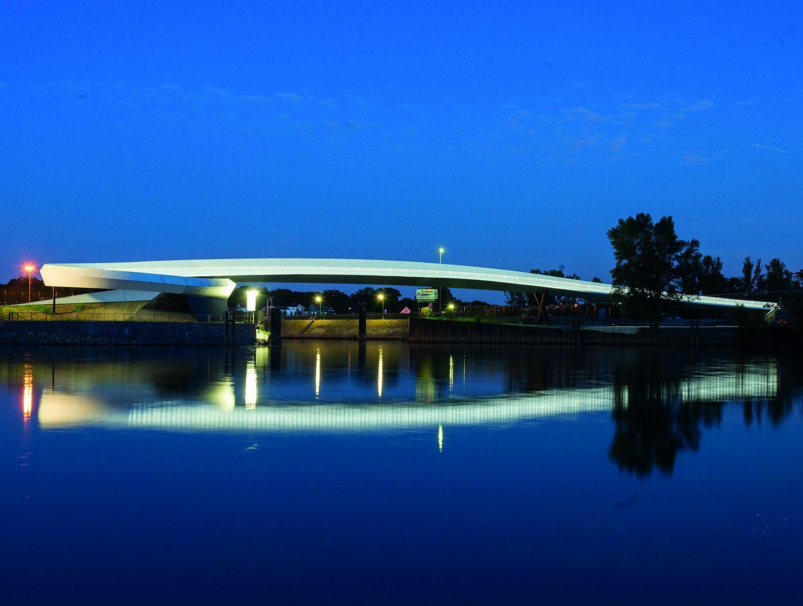 Ölhafen Bridge | Schneider+Schumacher (Raunheim, Germany)