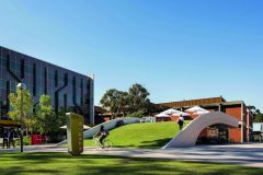3. Curtin Bike Hub | Coniglio Ainsworth Architects (Perth, Australia)