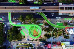 4. Xiamen Bicycle Skyway   Dissing+Weitling (Xiamen, China)