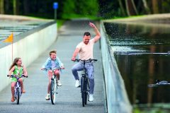 5. Cycling through water | Visit Limburg, Lens°Ass Architecten (Limburg, Belgium)