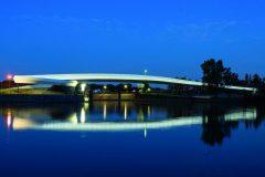 9. Ölhafen Bridge | Schneider+Schumacher (Raunheim, Germany)