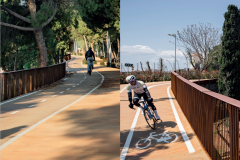 1. Cycling and pedestrian connection | Batlle i Roig (Barcelona, Spain)