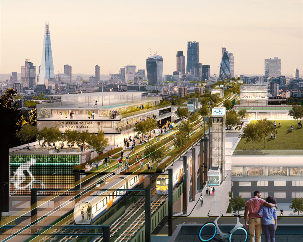 BAB - SkyCycle, Foster+partners