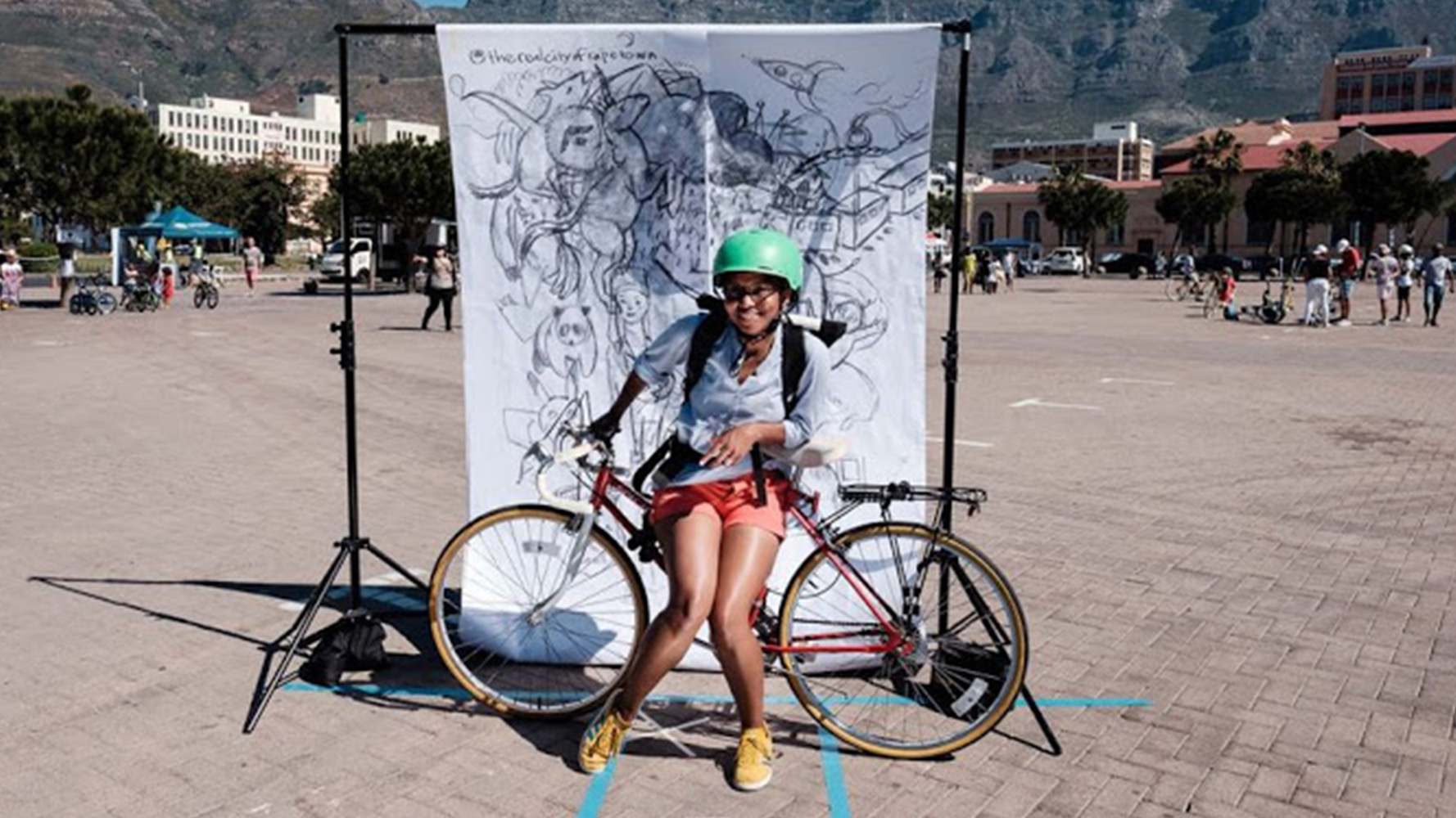 Bicyce Mayor of Cape Town