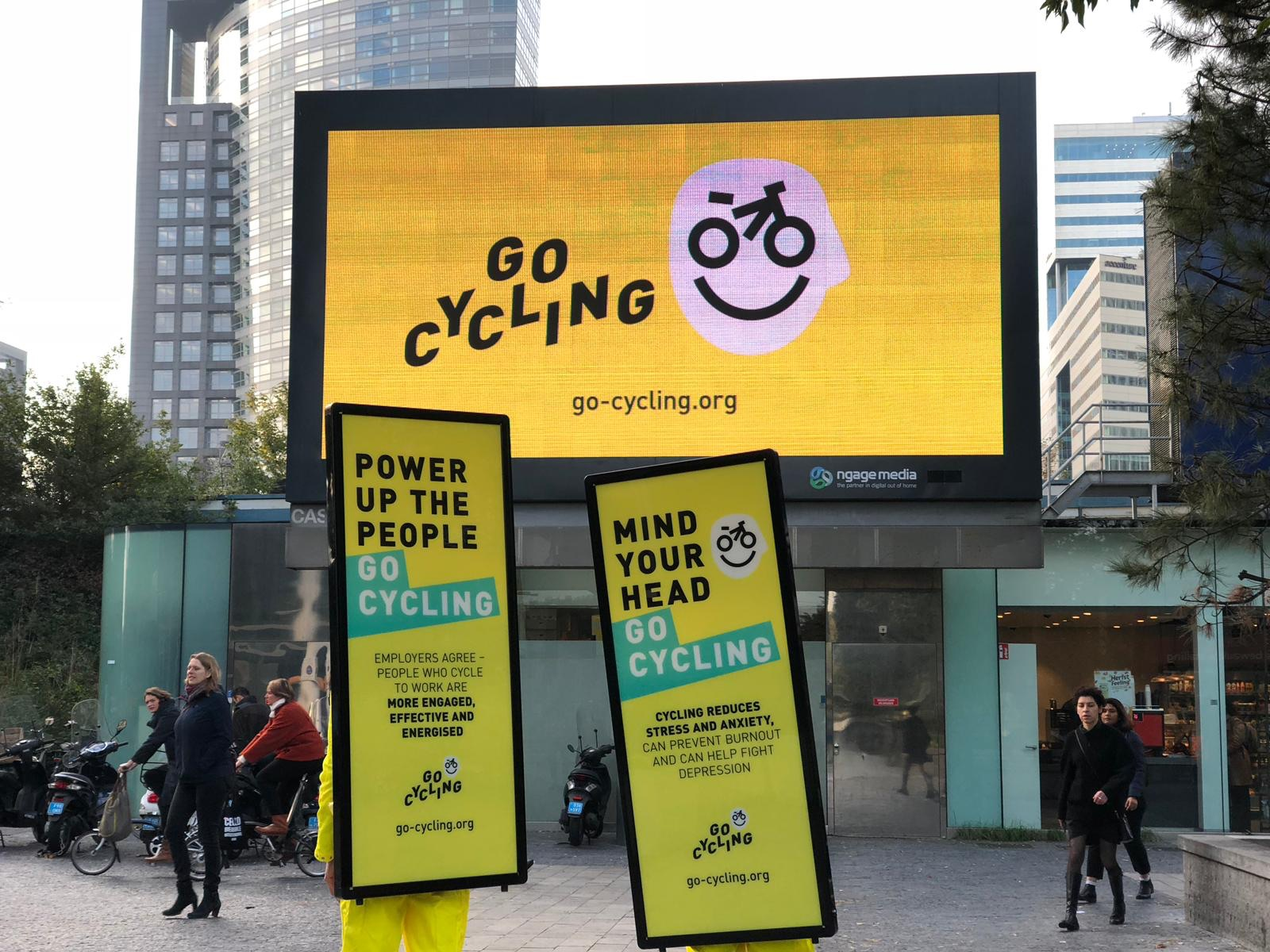 Go Cycling Activation at Zuidas