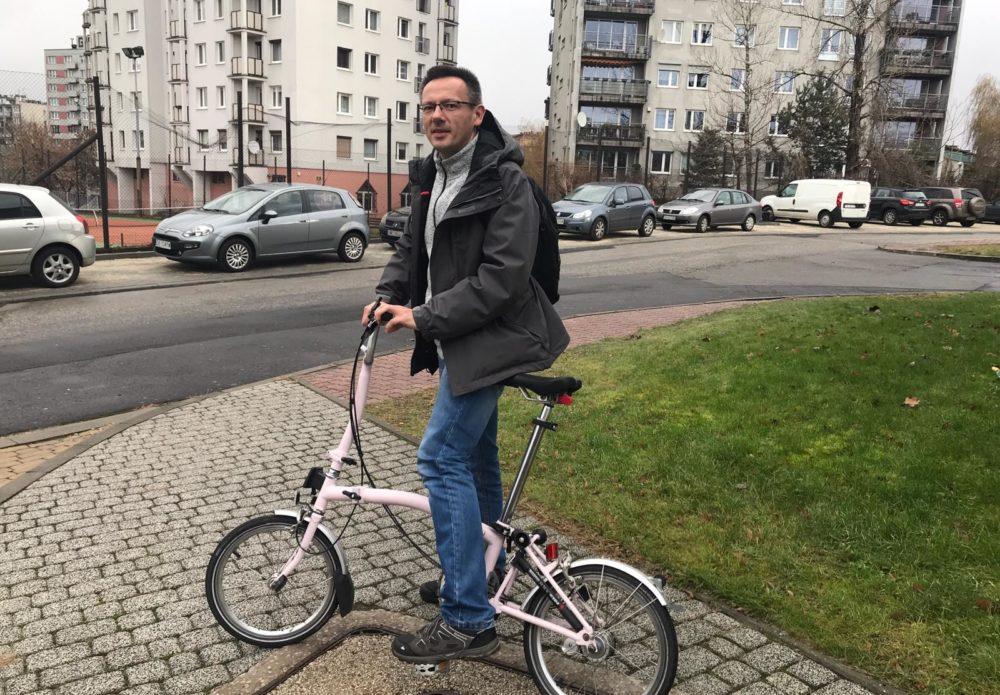 Grzegorz Mikrut, the new Bicycle Mayor of Katowice