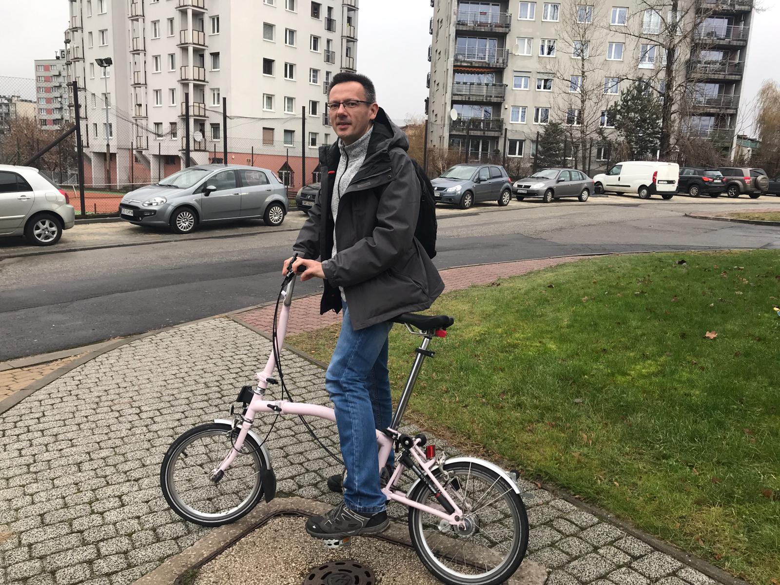 Grzegorz Mikrut, the new Bicycle Mayor of Katowice
