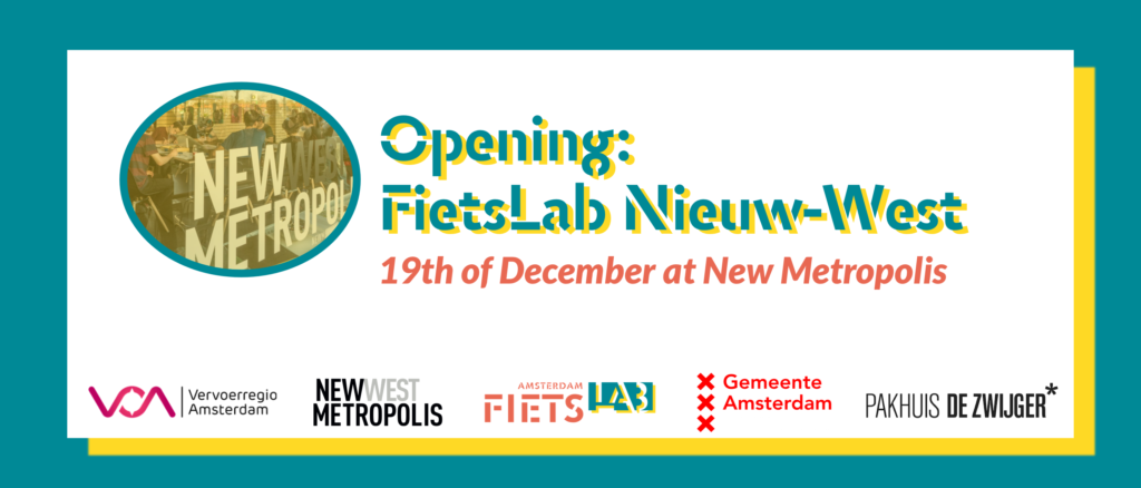We're opening a new Fietslab on the 19th of December!