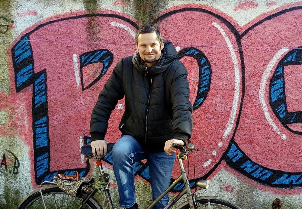 Bicycle Mayor Janez