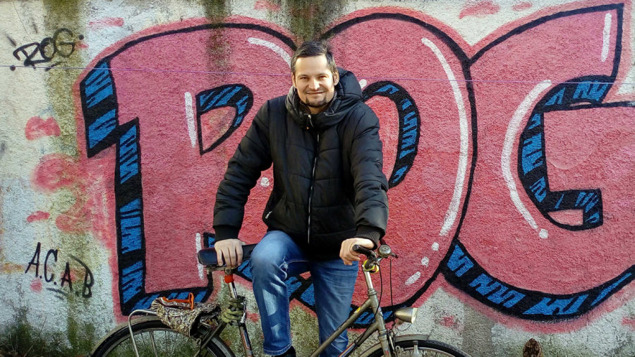 Bicycle Mayor Janez