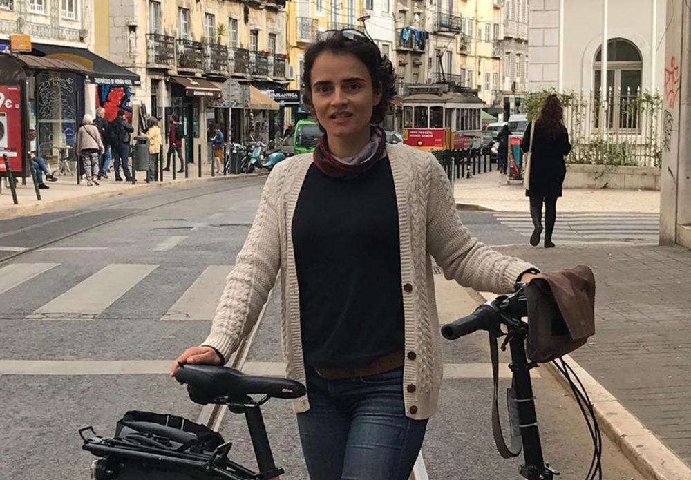 Bicycle Mayor Ana Periera