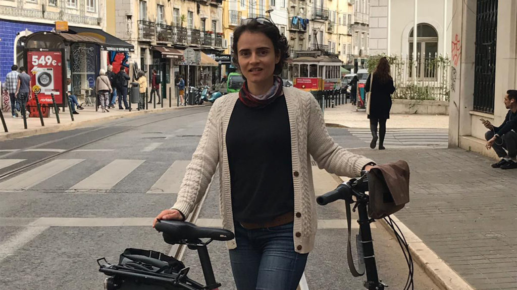 Bicycle Mayor Ana Periera