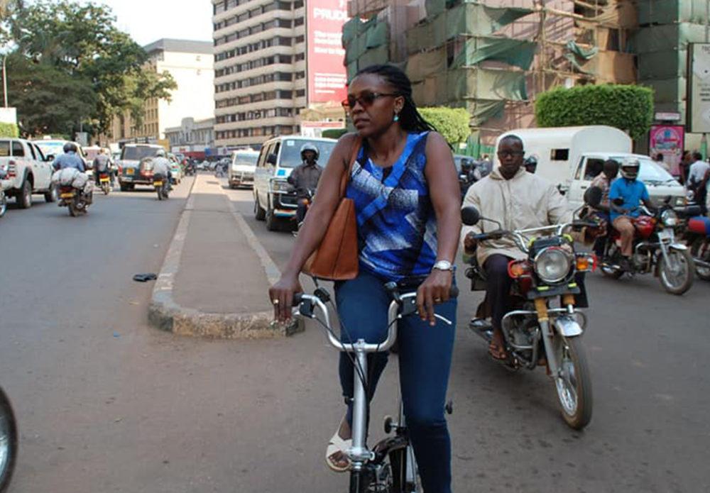 Bicycle Mayor Amanda Kampala