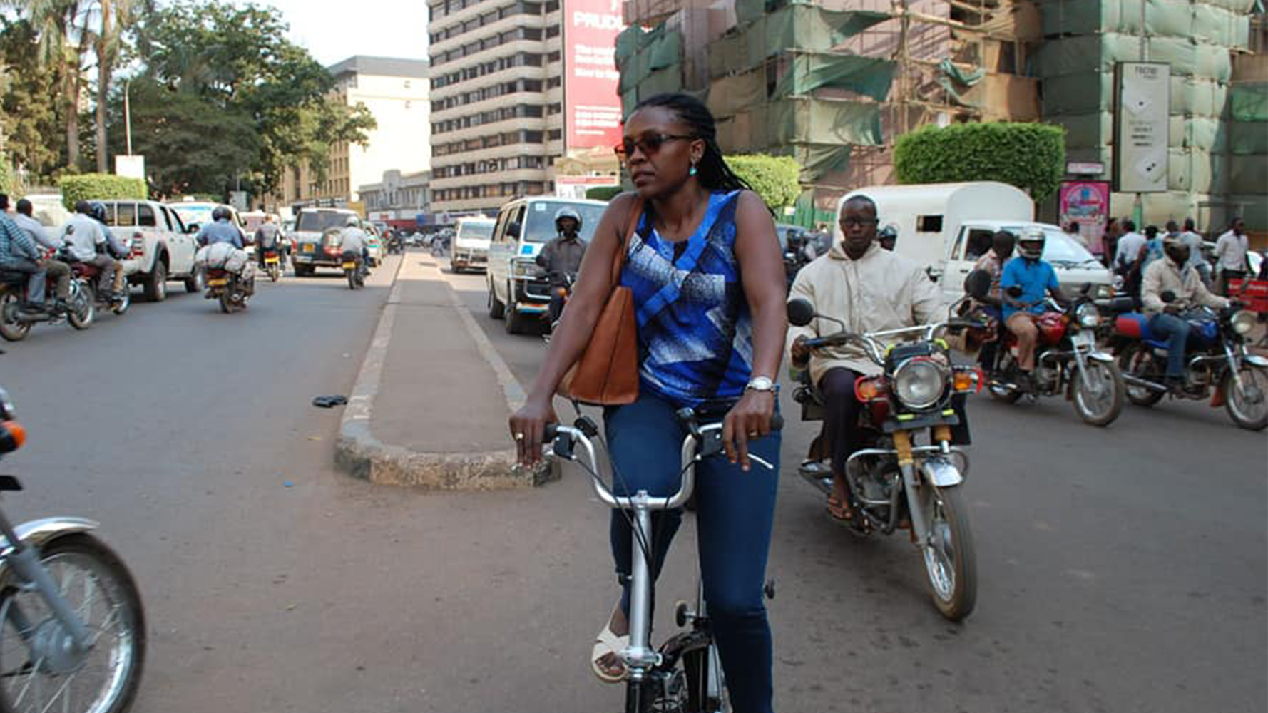 Bicycle Mayor Amanda Kampala