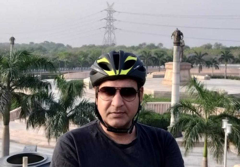 Bicycle mayor Noida
