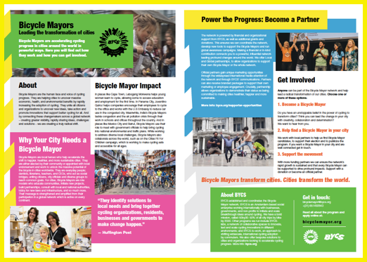 Bicycle Mayor and Leaders Program | BYCS