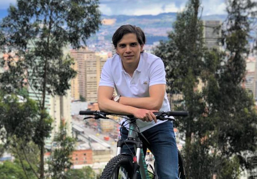 Bicycle Mayor Bogota Pablo