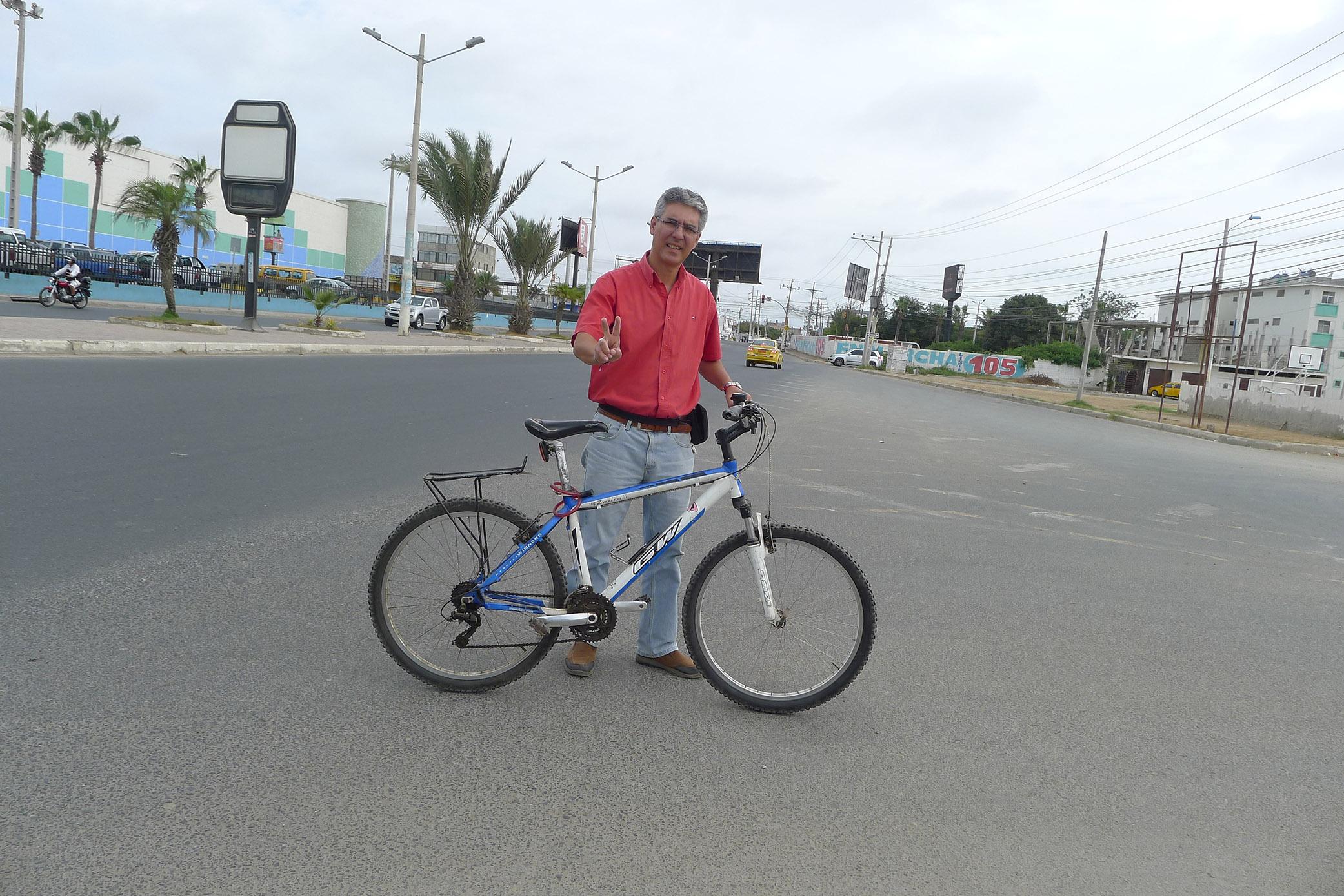 Bicycle Mayor La Libertad