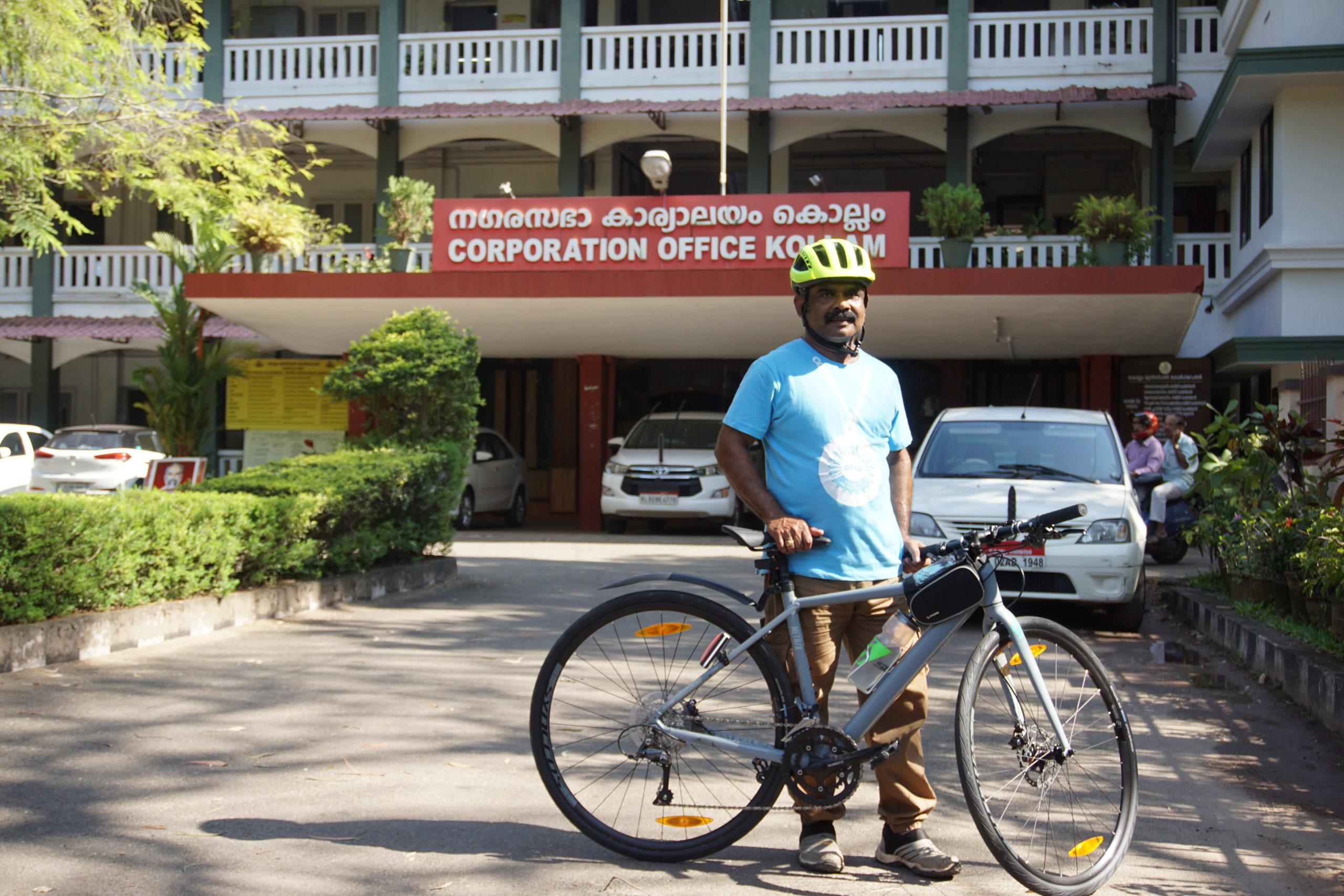 Bicycle Mayor Kollam