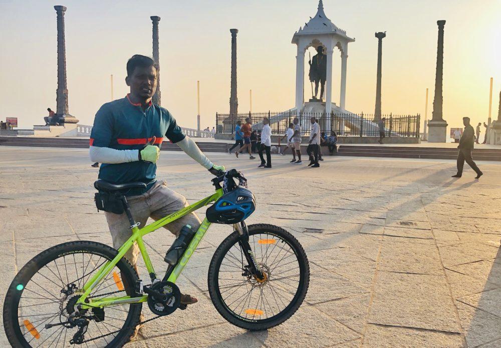 Bicycle Mayor Puducherry