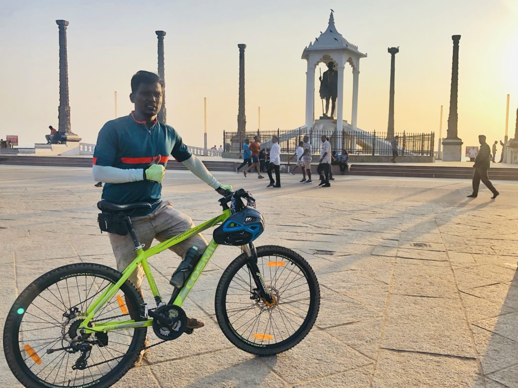Bicycle Mayor Puducherry