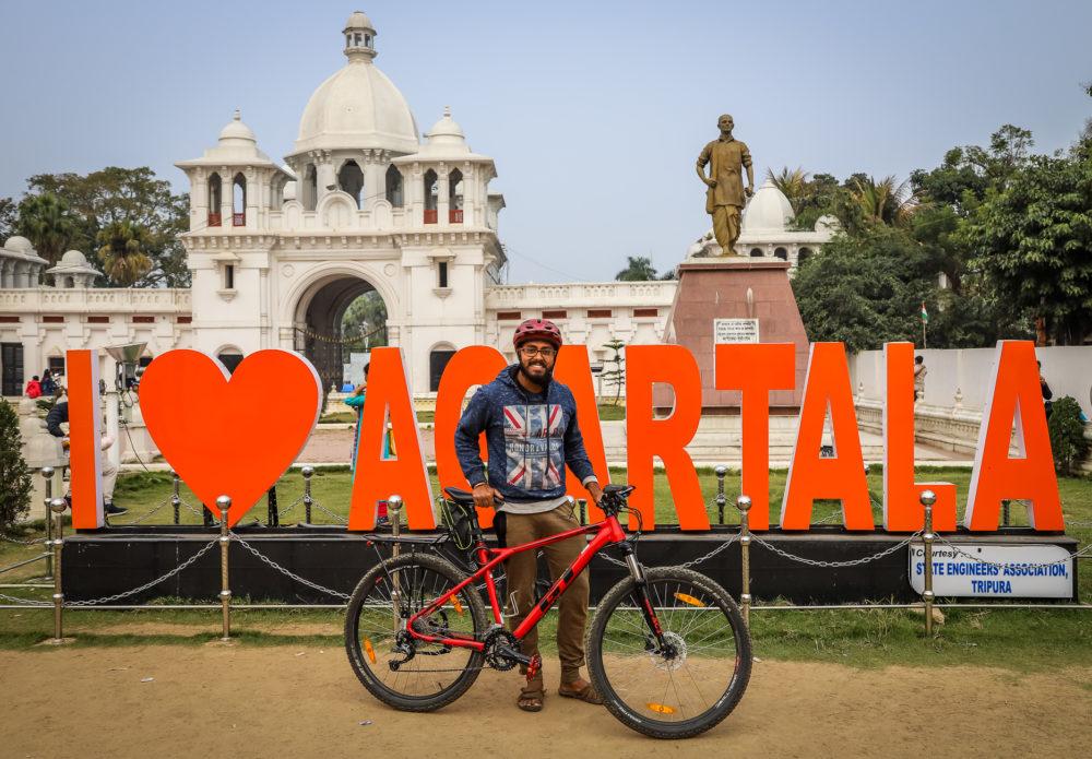 Bicycle Mayor Agartala
