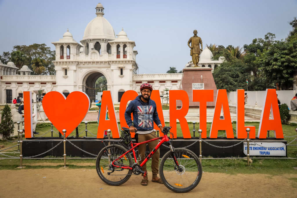 Bicycle Mayor Agartala