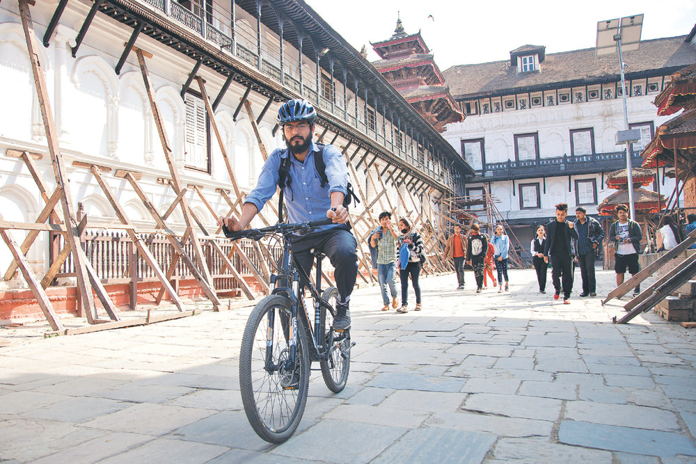 Bicycle Mayor Kathmandu