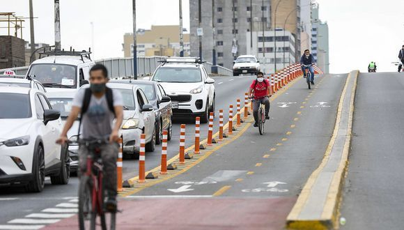 Bicycle Users in Lima