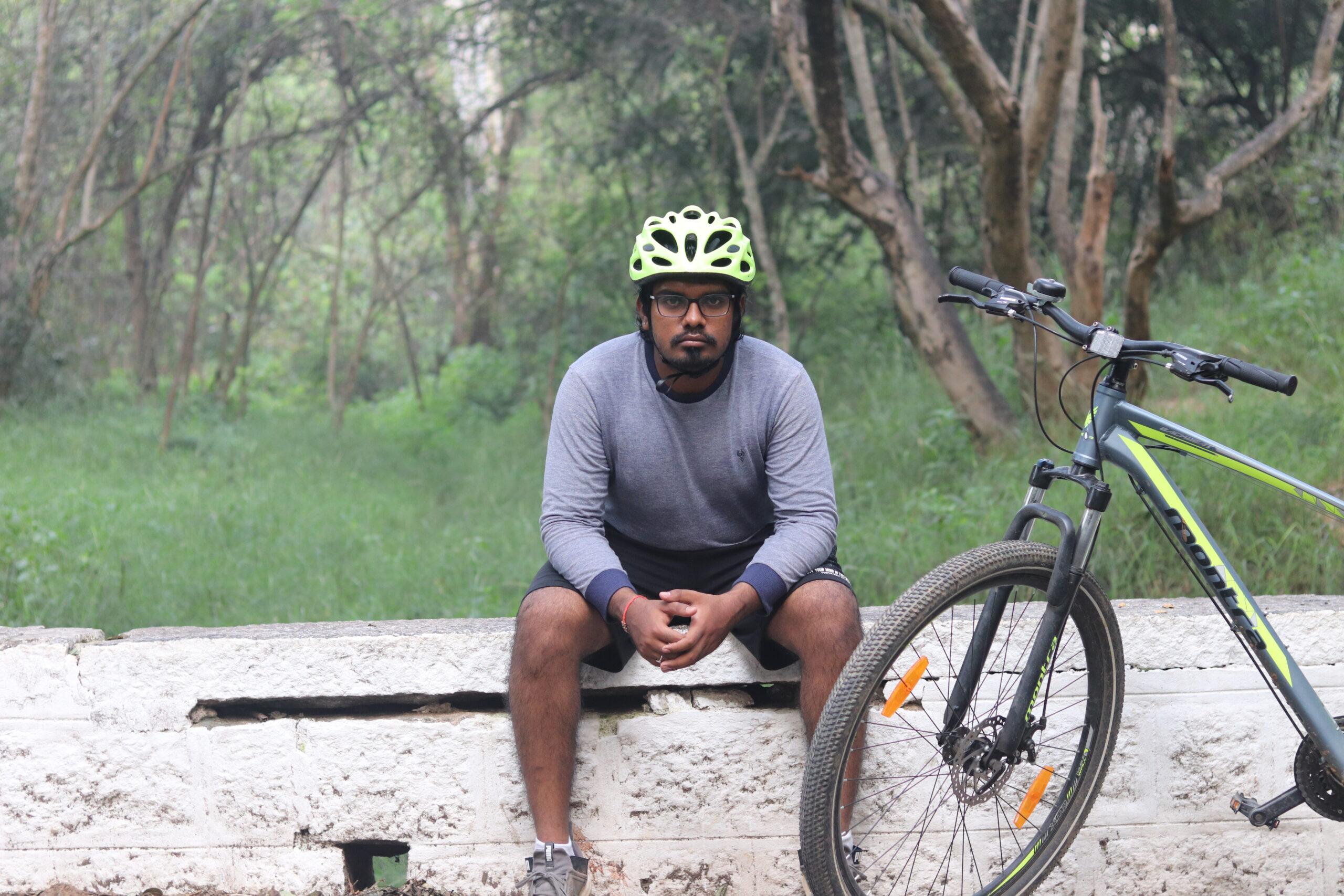 Bicycle Mayor Tumakuru