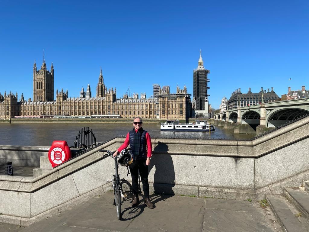 Bicycle Mayor Lucy Mahoney