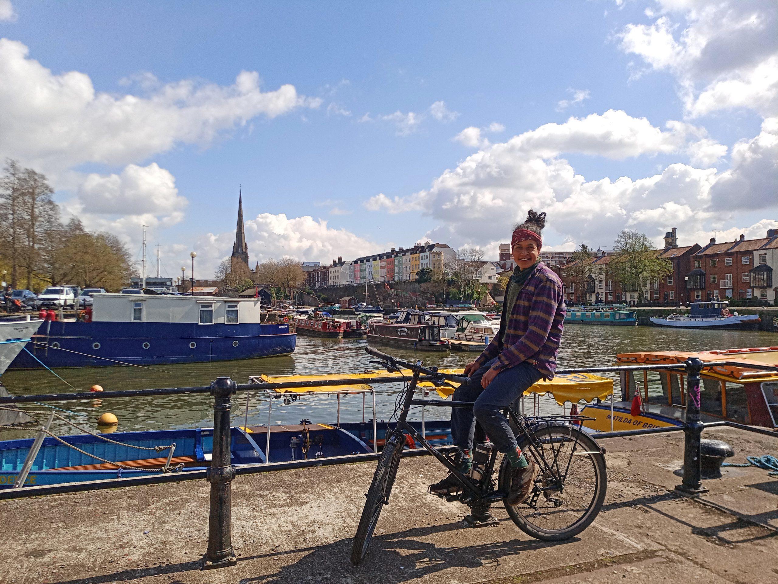 Bicycle Mayor Leahh DeHaan