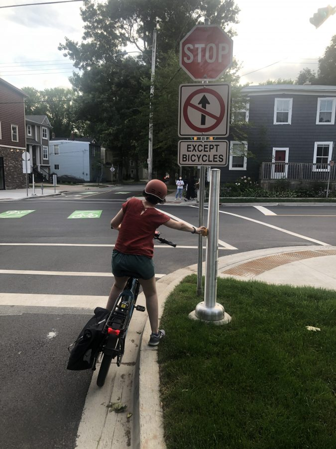 physically challenging access to cycling infrastructure