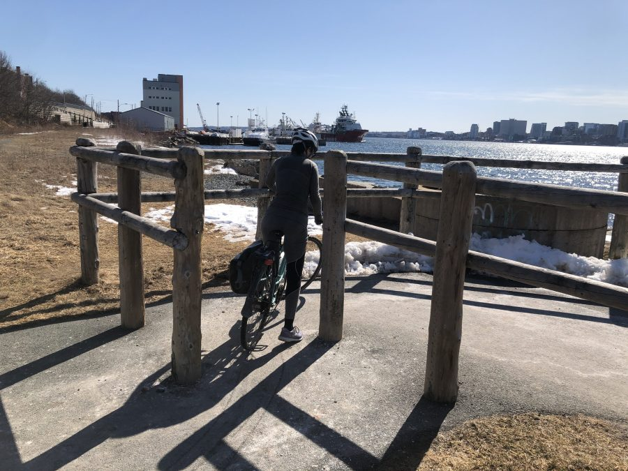 Difficult to navigate cycling infrastructure in Halifax